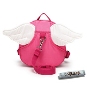 EPLAZA Angle with Wings Baby Walking Safety Harness Reins Toddler Child Strap Backpack Kid for 3-6 years old