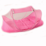 CHRISLZ Summer Mosquito Net for Children ,Portable Folding Baby Mosquito Net