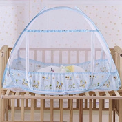 Sealive Baby Mosquito Net Yurts Nets,Pop Up Mosquito Net Bed Guard Tent,Free Installation Foldable Bed Mosquito Net for Babies Toddlers Kids Adult