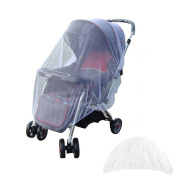 YOUOR Mosquito Net Baby Stroller Pushchair Insect Shield Safe Infants cradle Protection Mesh Stroller Accessories