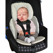 Baby Body Support Compliance Reversible Car Seat Stroller Cushions Pad