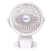 INNOBAY Desk Wall Mountable Mini Rechargeable Fan Clip On Versatile Cooling Fan for Stroller, Home, Office, Bedroom, Gaming Room, Computer Table and Multi-scenes
