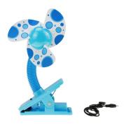 BXT Baby Clip-on Mini Crib Fan Strollers Fan