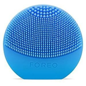 FOREO LUNA Play Plus, Portable Facial Cleansing Brush, Aquamarine, Replaceable Battery and Waterproof Skin Care Device