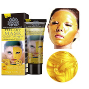 FEITONG New Gold Collagen Facial Face Mask High Moisture Anti Ageing Remove Wrinkle Care