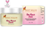 Sweet Willow Time Repair Creme - EGF Vitamin C and Hyaluronic Acid - Advanced Anti Ageing Moisturiser To Beautify And Tone Mature Skin