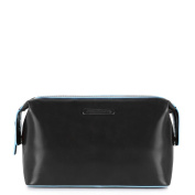 Piquadro Blue Square Toiletry Bag, Black