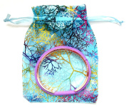 FamilyFirst Tradings Hair Band Bracelet With Organza Gift Bag- Gift Jewellery Headband- 4 Colours Available