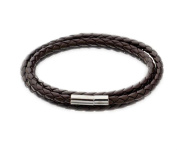 1 Piece Leather Braided Bracelet Rope