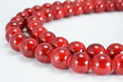 Two Tone Red Black Glass Beads Round 10mm Shine Round Beads For Jewellery Making Item#789222045692