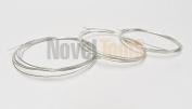 SILVER SOLDER WIRE SOLDERING jewellery & REPAIR EASY- MEDIUM - HARD _4.6m TOTAL (2E) NOVELTOOLS