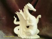 Fire Dragon 23cm x 18cm Ceramic Bisque, ready to paint
