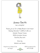 Bellyfull Baby Shower Invitations - Set of 20
