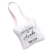 Insignia Princess is Sleeping Baby Girl Door Hanger