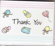 Baby Showered Thank You Notes
