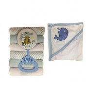 Four Seasons Baby Boy Bath Gift Set