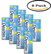 PACK OF 8 - Desitin Rapid Relief Nappy Rash Remedy Cream, 120ml Tube