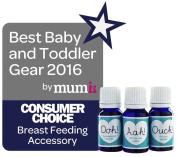 Natural Birthing Company Small Bosom Buddies Breastfeeding Oils