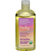 Desert Essence Baby Body and Massage Oil Cuddle Buns Softening Fragrance Free - 120ml