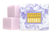 Greenwich Bay Set of 3 Botanical Soap Lavender & Chamomile Wrapped 180ml