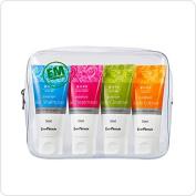 EM(Effective Micro-organisms) Shampoo Treatment Body Soap Cleanser Lotion Moisturiser Set [Travel Kit] Alcohol, Fragrance, Chemical FREE
