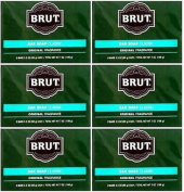 Lot of 12 Bars ( One Dozen) Brut Soap Classic Original Fragrance 100ml each