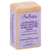 SheaMoisture 25ml Shea Butter Soap in Lavender and Wild Orchid