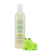 PON (Pure Organic Natural) Baby 2in1 Shampoo and Body Wash, Tear-Free, Sulphate and Paraben-Free - 260ml