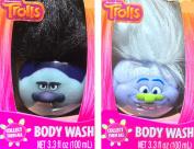 Dreamworks Trolls Body Wash Heads Set Of 2 Net Wt 100ml