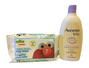 Calming Baby Bath Wash with Hushables Baby Wipes