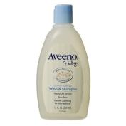 Aveeno Baby Wash and Shampoo - 350ml