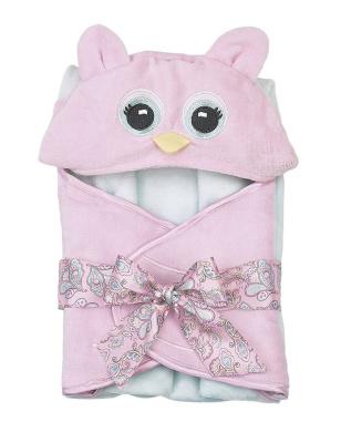 Bearington Baby Lil' Hoots Owl Bath Towel 60cm x 60cm
