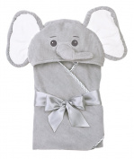 Bearington Baby Lil' Spout Elephant Bath Towel 60cm x 60cm