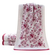 Lucoo soft comfortable New 3474cm Soft Cotton Face Flower Towel Bamboo Fibre Quick Dry Towels