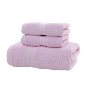 Lucoo soft comfortable New 3PC Soft Cotton Absorbent Terry Luxury Hand Bath Beach Face Sheet Towels