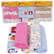Premier Baby Little Mimos Washcloth 4-pack - Assorted