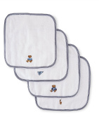 Ralph Lauren Polo Baby / Infant Cotton French Terry Washcloth Set - Boy