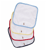 RALPH LAUREN Baby Boy's Set-of-Four Terry Washcloths
