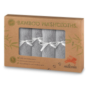 """Natemia Bamboo Baby Washcloths (6-pack) 