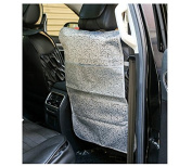 Car Seat Back Protectors , Car Kick Mats with Storage Organiser Pocket, Fits Most Cars SUVs Trucks,Protection From Kid's Dirt, Scuffs, Scratches, Pack of 2
