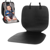 IntiPal Car Seat Protector Mat - Perfect for Child, Baby & Infant Car Seat