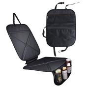 Car Seat Protector and Kick Mat, OrgMemory Baby Cars Seats, Backseat Organiser and Dog Mat