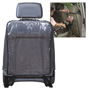 ZYooh 2PC Car Auto Seat Back Protector Cover Easy to Clean for Children Kick Mat Mud Clean