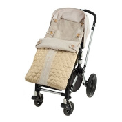 Peradi All Stroller Bunting, Quilted Beige