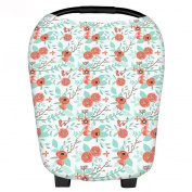 Baby Car Seat Cover Canopy and Nursing Cover CH054