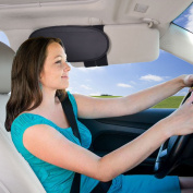 WANPOOL Anti-Glare Anti-Dazzle Vehicle Visor Sunshade Extender Sun Blocker for Cars, Vans and Trucks