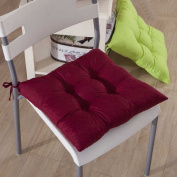 Outtop Cotton Thickened Nine-pin Cushion Seat Chair Pads 40cm X 40cm