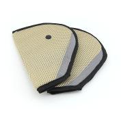Owfeel 2pcs Kids Children Car Seat Belt Positioner Protector Safety Cover Shoulder Harness Strap Adjuster Pad
