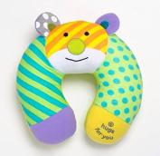 Romero Britto Baby Travel Bear Car Seat Pillow