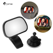 PME Baby Rear View Mirror - infant in-sight mirror 360° Adjustable angle CAR REAR VIEW MIRROR